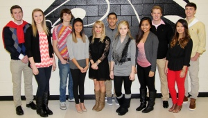 CHS Homecoming Court 2015