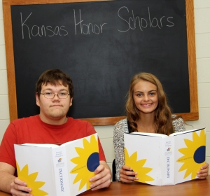 2015 - 2016 CHS Kansas Honor Scholars